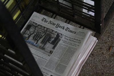 NYT news stand 3/24/17