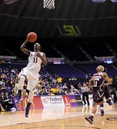Woman's Basketball, LSU vs. Mississippi State, 1.30.14
