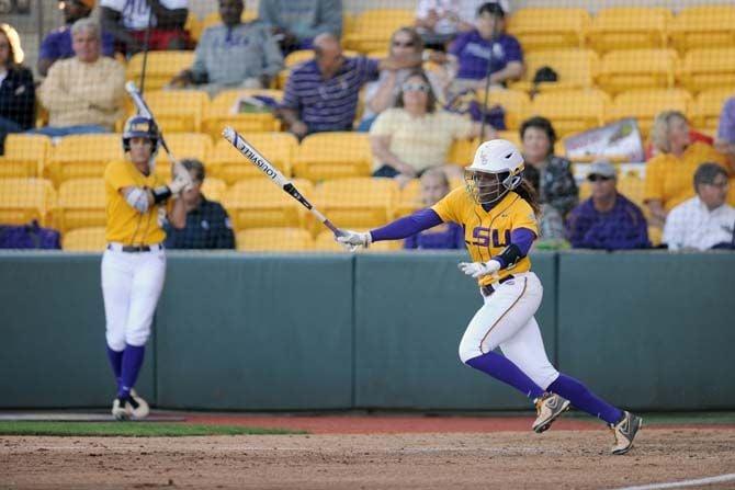 04/29/15 LSU Softball vs Southeastern