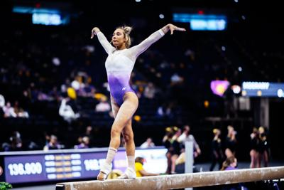 LSU GYM defeats Missouri