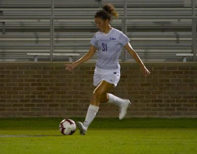 LSU soccer's Meghan Johnson seeks larger role in sophomore season