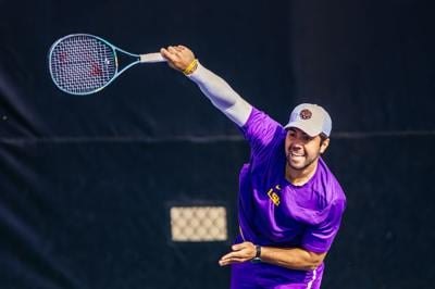 Tennis duo Wagner-Hohmann show great promise for LSU's doubles this season