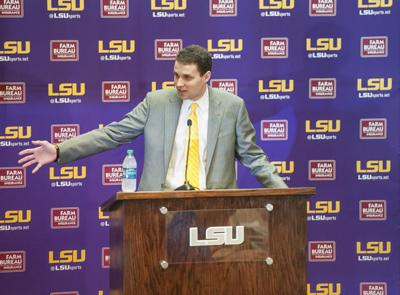 3-22-17 LSU Men's Hoops Press Conference