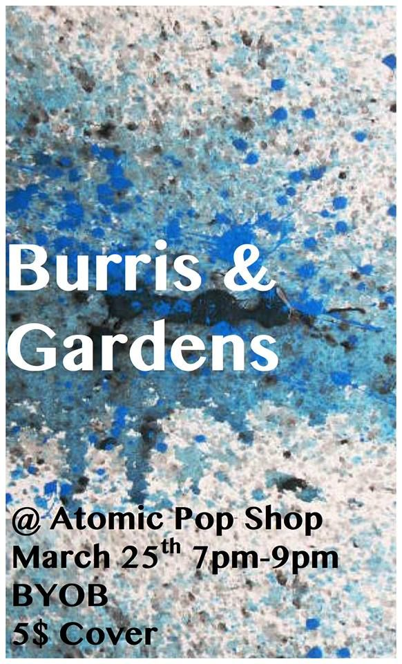 See Burris before they leave for their Dashin' Out Tour