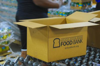 PHOTOS: LSU students volunteer at Greater BR food bank