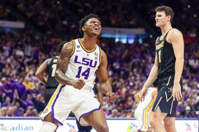 PHOTOS: LSU Basketball vs Vanderbilt