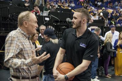 03/01/2016 LSU Men's Basketball vs.Missouri
