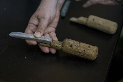 PHOTOS: LSU Finds Mayan Tools in Belize