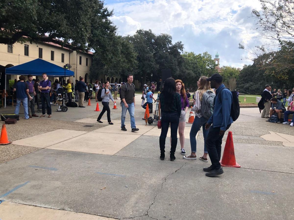 Swing filmed on campus