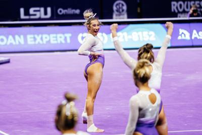 LSU gymnastics advances to NCAA Regional Final