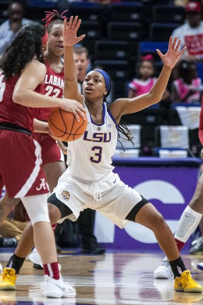 2-25-18 LSU vs. Alabama Women's Basketball