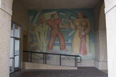 Murals of Allen Hall 1.22.19