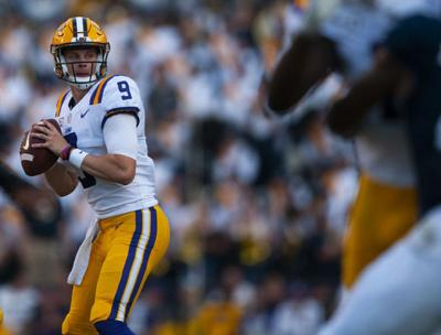 new style d8fb1 900f8 Joe Burrow breaks LSU single game passing touchdown record ...
