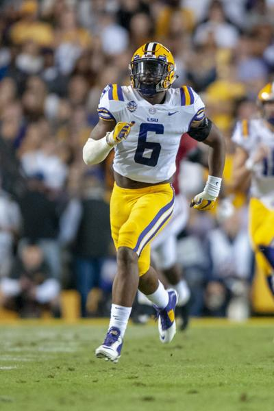 Middle linebackers Damone Clark, Jacob Phillips star as LSU