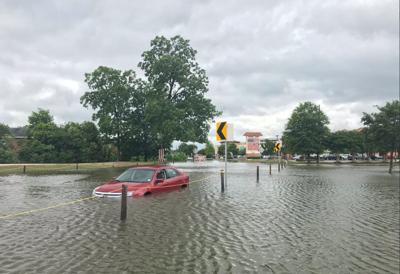 campus flooding June 2019