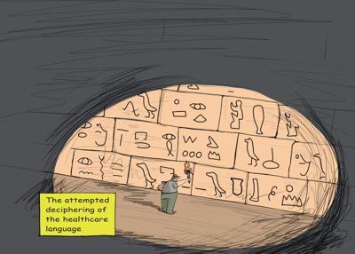 Louisiana Healthcare Hieroglyphics