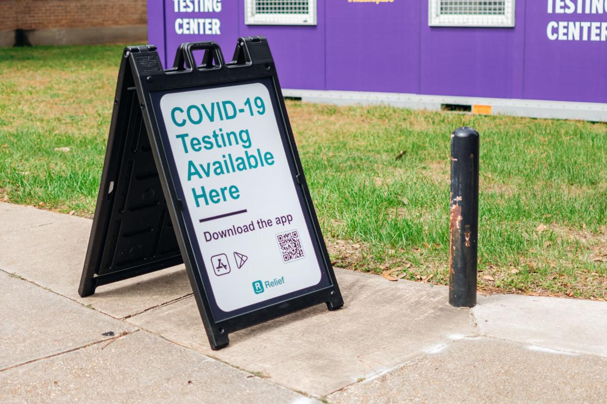 COVID-19 Testing Sign