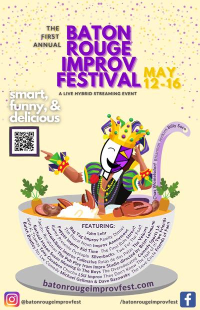 BR Improv Fest poster