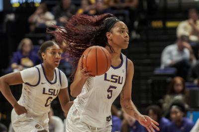 LSU Lady Tigers Basketball Defeats Southeastern