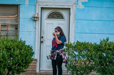 PHOTOS: Volunteers Canvass Neighborhoods On Election Day