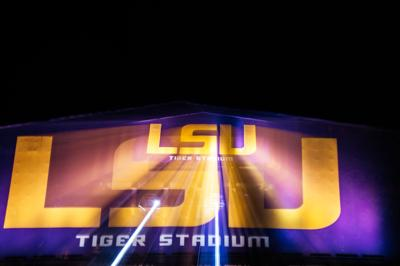 LSU at Night