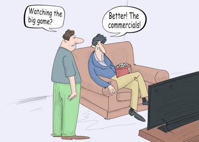 Superbowl commercial