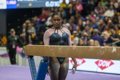 LSU Gymnastics Defeats Auburn