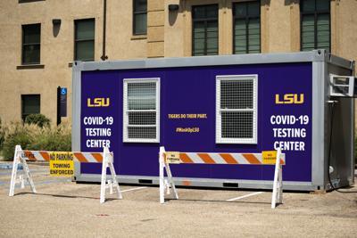 LSU COVID-19 Testing