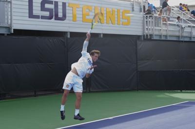 LSU Men Tennis vs. Memphis 3/11/2020