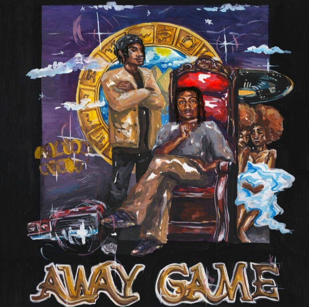 """""""Away Game, Vol. 2"""" Album Art"""