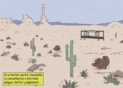 Coachella cartoon