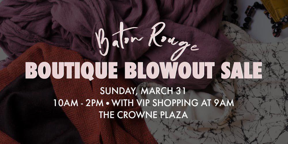 3.25.19 boutique blowout poster