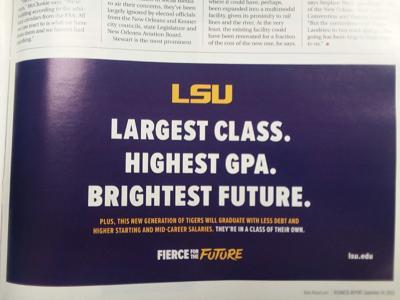 LSU BR Report Ad