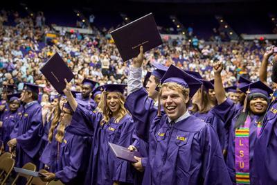 LSU Graduation