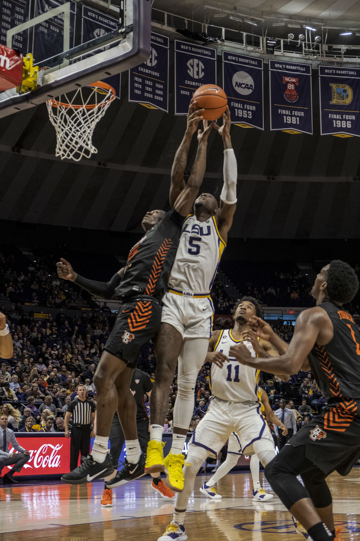 LSU Men's Basketball Defeats Bowling Green