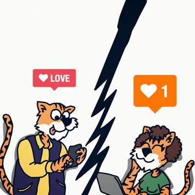 Online Dating Cartoon