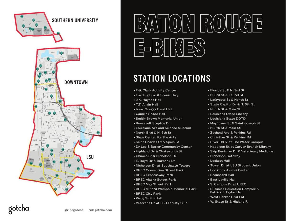 Baton Rouge bike-share program launches Monday with hubs on LSU ...