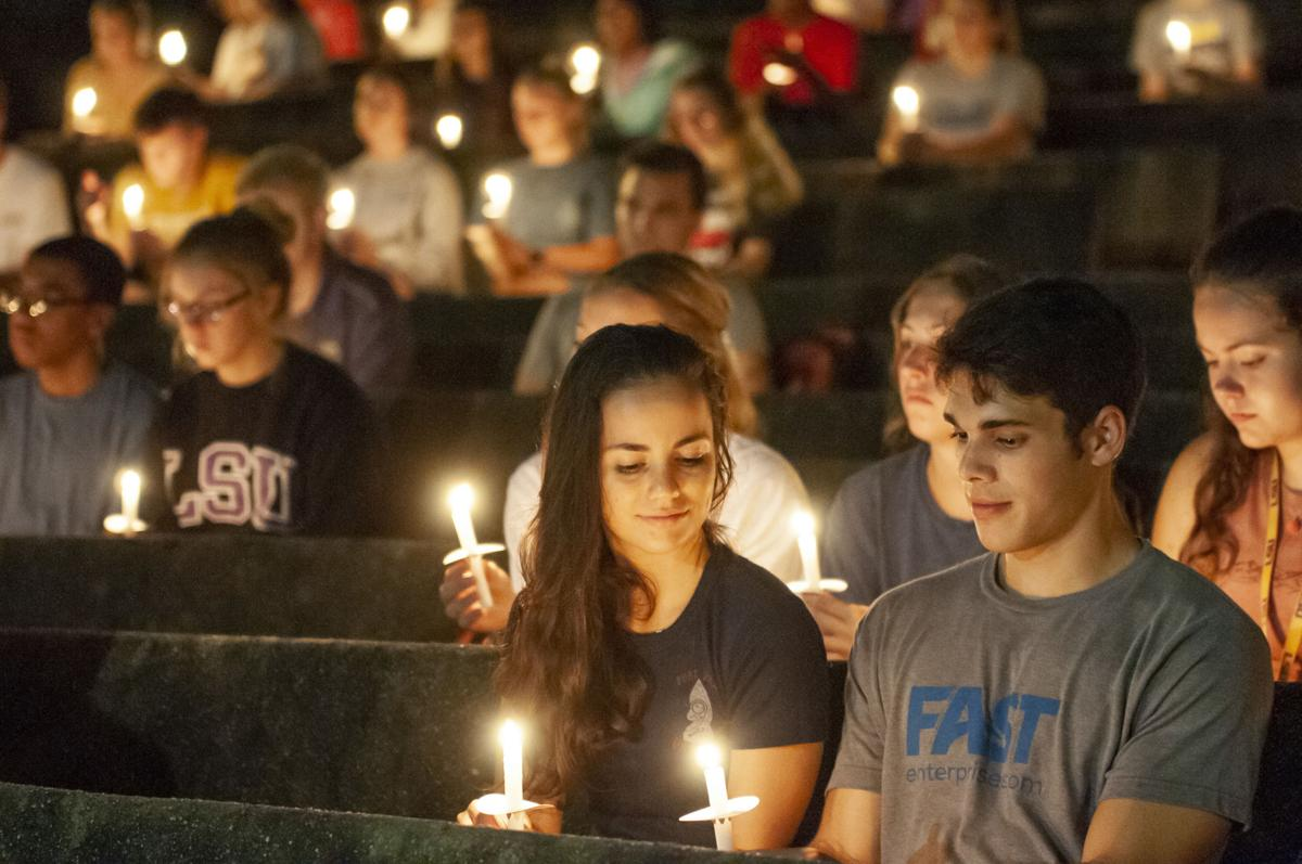 """LSU SG holds """"an evening of reflection and remembrance"""""""