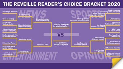 Reader's Choice Bracket Round Four