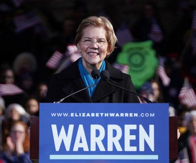 Elizabeth Warren announces presidential campaign