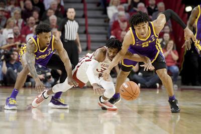 LSU Arkansas Basketball