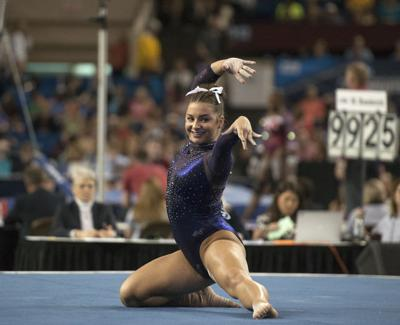 McKenna Kelley floor routine analysis