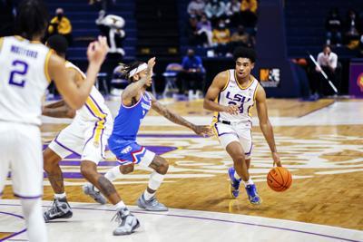 PHOTOS: LSU men's basketball defeats LA Tech