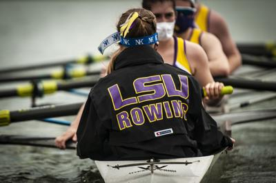 PHOTOS: LSU rowing holds purple vs. white competition
