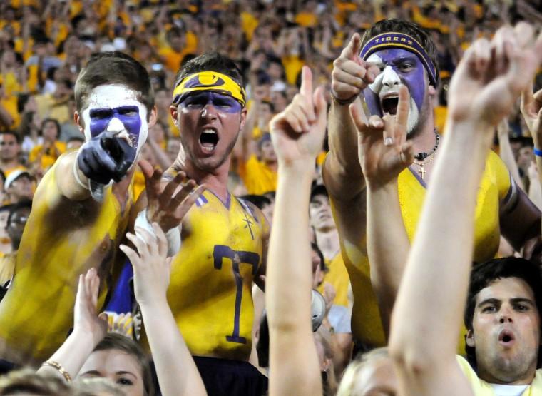 LSU vs. South Carolina 10/13/2012