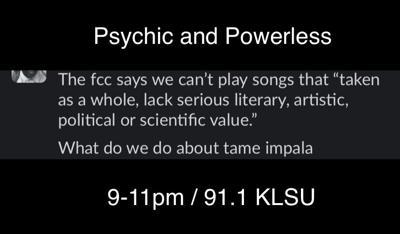 Psychic and Powerless 06/09/21
