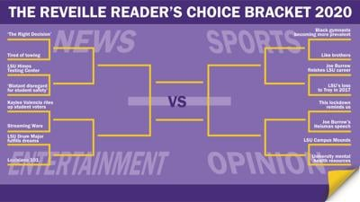 Reader's Choice Bracket- Round One