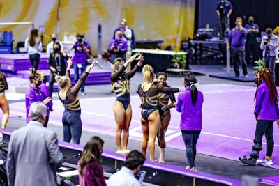 PHOTOS: LSU gymnastics defeats Arkansas in home opener