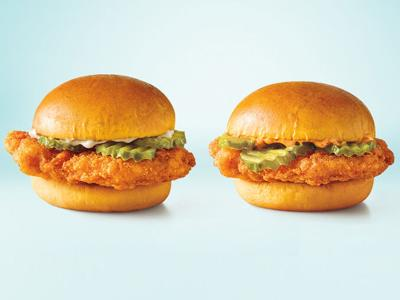 Sonic chicken slinger sandwich