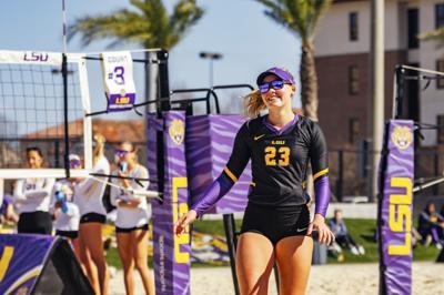 PHOTOS: LSU Beach Volleyball Purple vs. Gold Scrimmage